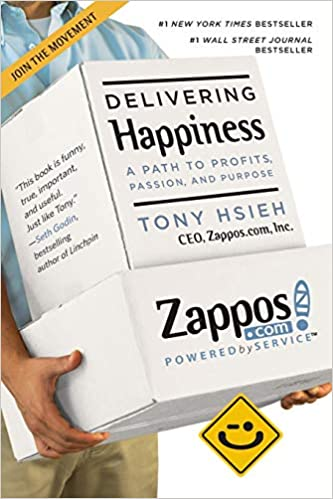 Delivering Happiness book livro