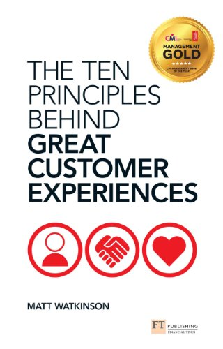 The Ten Principles Behind Great Customer Experiences  livro book