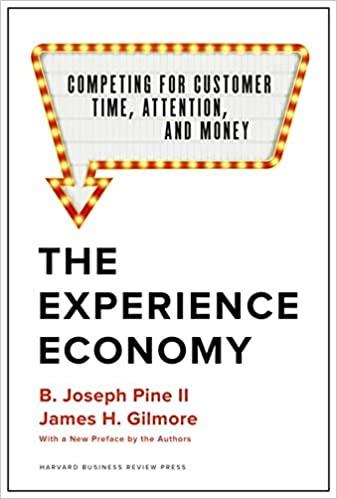 the experience economy book livro